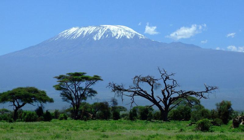 La montagne du Kilimandjaro