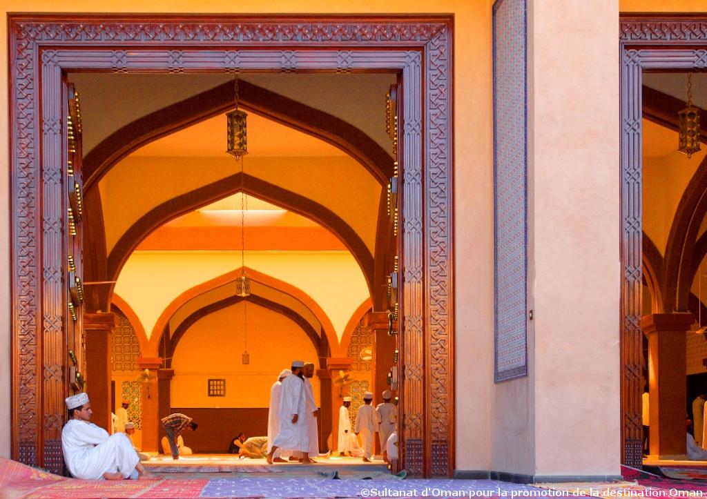 Mosquée musulmane Oman