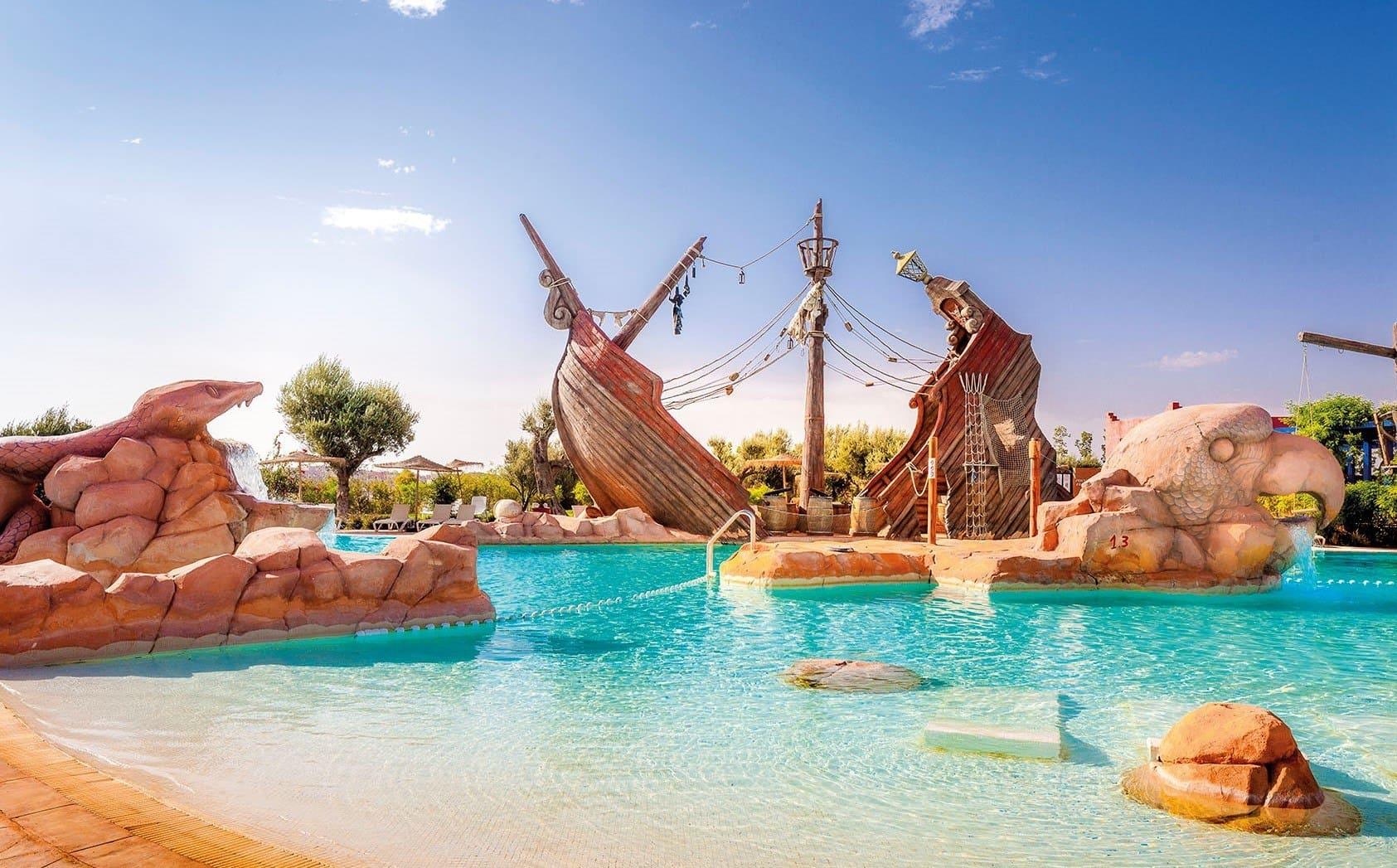 Le Vizir Center Parc & Resort 4* Petit Déjeuner, Marrakech