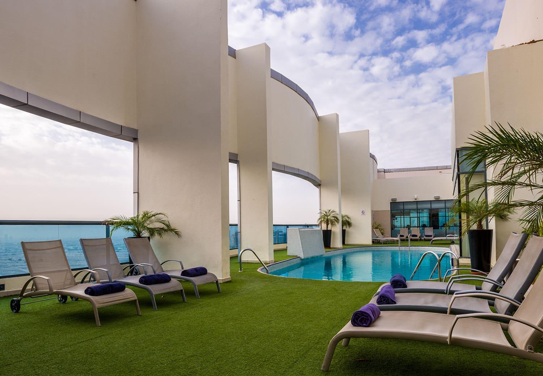 First Central Hotel Suites 6J/5N Petit-déjeuner, Dubaï