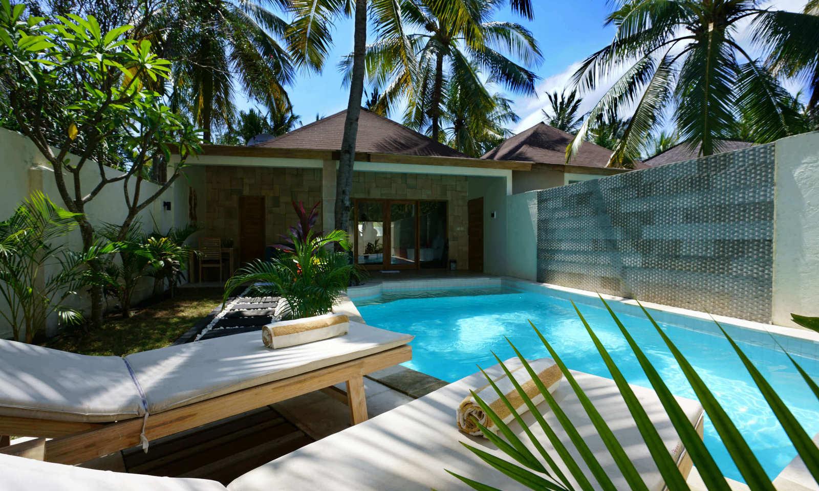 Senang Private Villa 4* Petit Déjeuner , Lombok, Indonésie