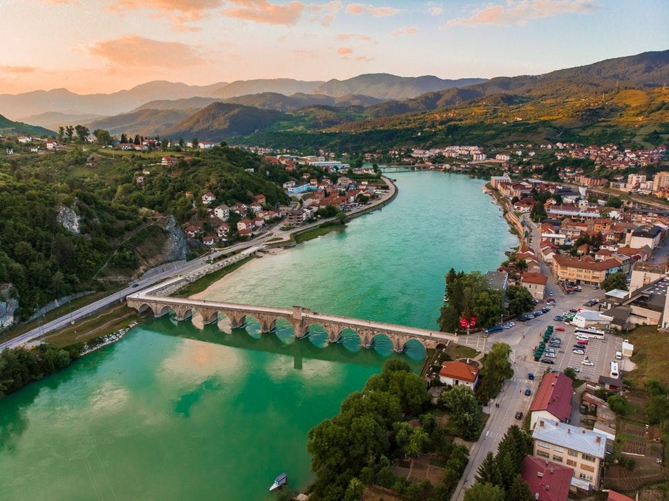 Hôtel Grand Hotel Neum 4* Pension complète, 8J/7N, Bosnie